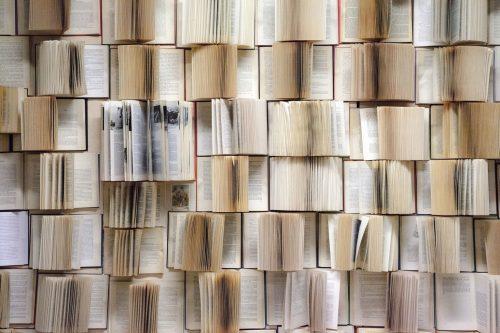 Ściana książek